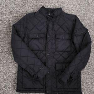 Zara Boys Navy Blue Quilted Jacket size 11/12 EUC!